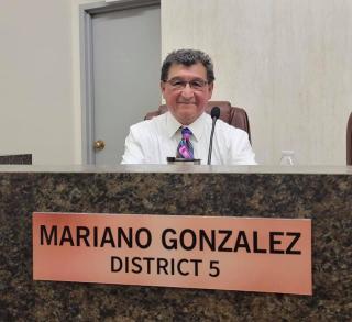 Photo of Councilman Gonzalez