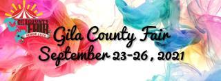 Colorful Gila County Fair Flyer
