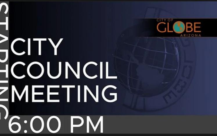 Photo of City Council Meeting Flyer